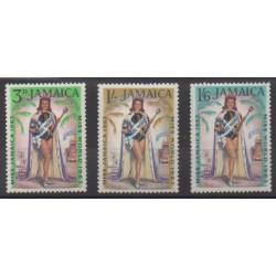 Jamaica - 1964 - Nb 212/214 - Mint hinged