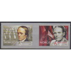 Norvège - 2015 - No 1830/1831 - Célébrités