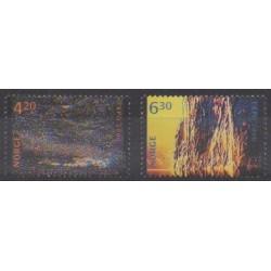 Norvège - 2000 - No 1302/1303 - Exposition