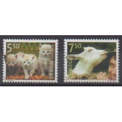 Norway - 2001 - Nb 1356/1357 - Animals