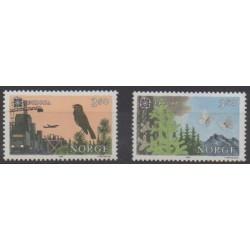 Norway - 1986 - Nb 902/903 - Environment - Europa