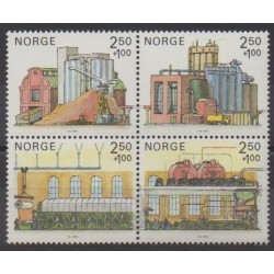 Norway - 1986 - Nb 906/909
