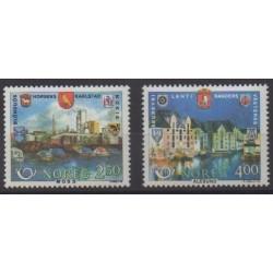 Norway - 1986 - Nb 904/905 - Sights