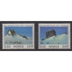 Norway - 1985 - Nb 874/875 - Sights