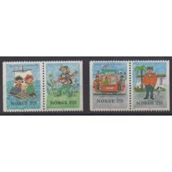Norway - 1984 - Nb 870/873 - Literature