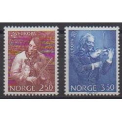 Norway - 1985 - Nb 880/881 - Music - Europa