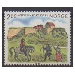 Norway - 1985 - Nb 879 - Castles