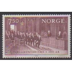 Norway - 1984 - Nb 869 - Various Historics Themes