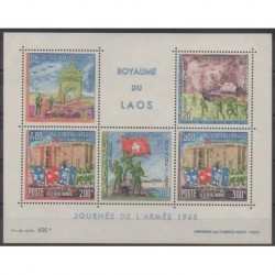 Laos - 1968 - Nb BF41 - Military history