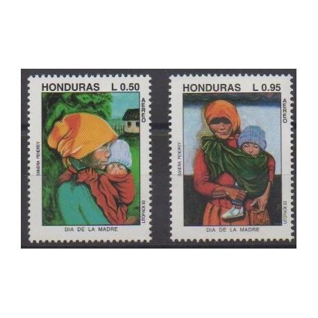 Honduras - 1993 - No PA802/PA803 - Peinture