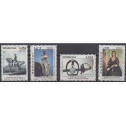 Honduras - 1992 - Nb PA799A/PA799D - Art