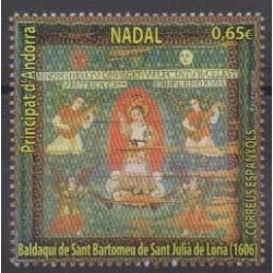 Andorre espagnol - 2020 - No 494 - Noël