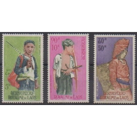 Laos - 1965 - No PA43/PA45