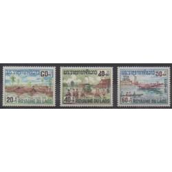 Laos - 1967 - Nb 146/148
