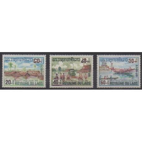 Laos - 1967 - No 146/148