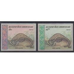 Laos - 1969 - No 203/204 - Reptiles