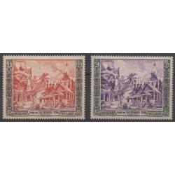 Laos - 1954 - No 28/29 - Neufs avec charnière