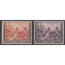 Laos - 1954 - Nb 28/29