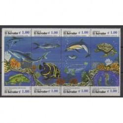 Salvador - 1996 - Nb 1299/1306 - Sea life
