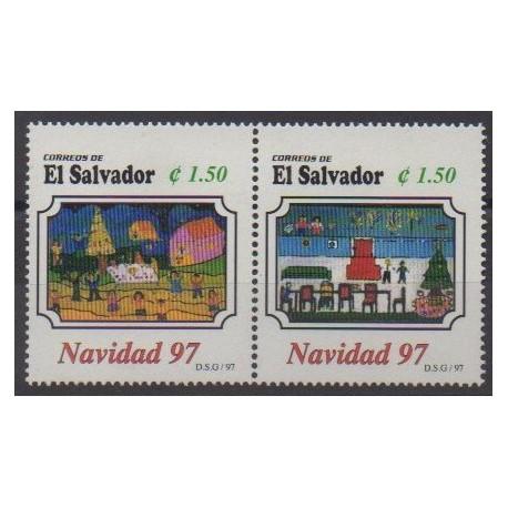 Salvador - 1997 - No 1327/1328 - Noël