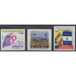 Salvador - 1996 - Nb 1296/1298