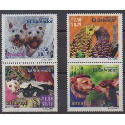 Salvador - 2001 - No 1483/1486 - Animaux