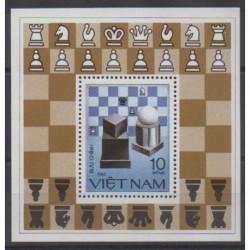 Vietnam - 1983 - Nb BF6 - Chess