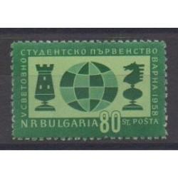 Bulgaria - 1958 - Nb 932 - Chess