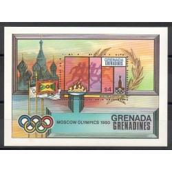Grenadines - 1980- No BF 49 - Jeux olympiques d'été