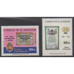 Salvador - 1985 - Nb 953/954