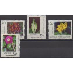 Salvador - 1986 - Nb 990/991 - PA630/PA631 - Flowers