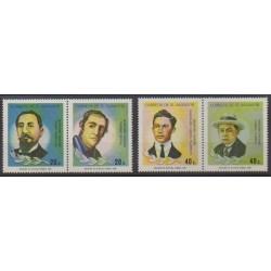 Salvador - 1986 - Nb 985/988 - Celebrities