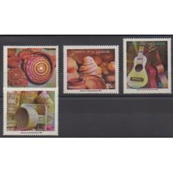 Salvador - 1986 - Nb 994/997 - Craft