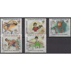 Salvador - 1988 - Nb 1026/1030 - Summer Olympics