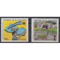 Salvador - 1991 - Nb 1108/1109 - Childhood