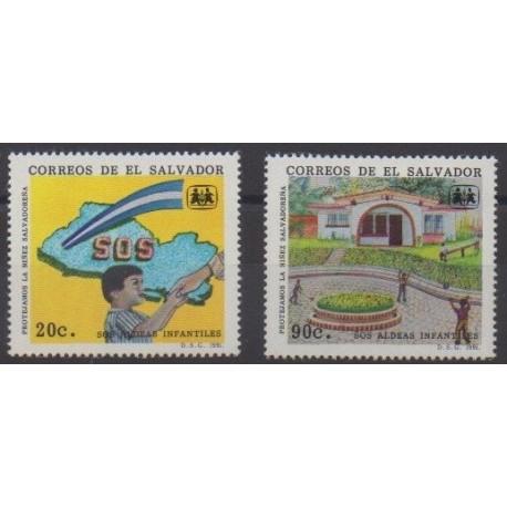 Salvador - 1991 - No 1108/1109 - Enfance