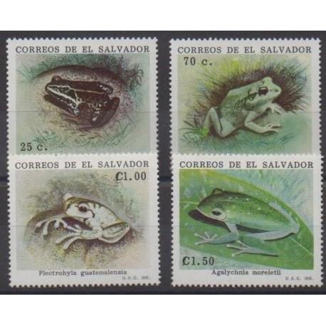Salvador - 1991 - No 1104/1107 - Animaux