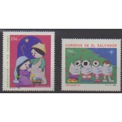 Salvador - 1991 - Nb 1117/1118 - Christmas