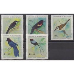 Salvador - 1991 - Nb 1125/1129 - Birds