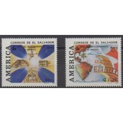 Salvador - 1992 - Nb 1160/1161 - Christophe Colomb