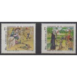 Salvador - 1991 - Nb 1121/1122 - Christophe Colomb