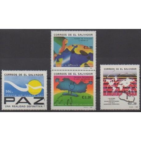 Salvador - 1992 - No 1156/1159