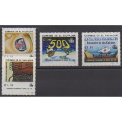 Salvador - 1992 - Nb 1154A/1154D - Christophe Colomb