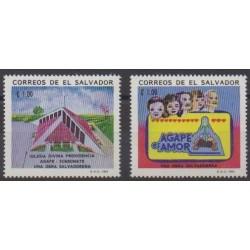 Salvador - 1993 - Nb 1168/1169 - Religion