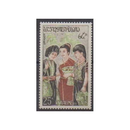 Laos - 1965 - No 105