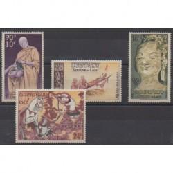 Laos - 1957 - Nb PA27/PA30 - Religion