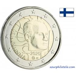 2 euro commémorativeUNC - Finland - 2020 - Väinö Linna 100 years - UNC
