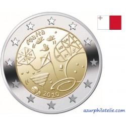 2 euro commémorativeBU - Malta - 2020 - Children's games - UNC