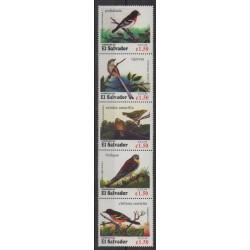 Salvador - 1996 - Nb 1291/1295 - Birds