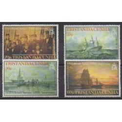 Tristan da Cunha - 2002 - No 720/723 - Navigation
